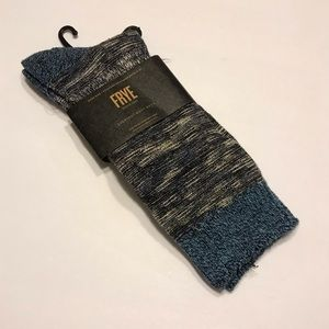 FRYE New Navy Everyday Boot Socks Shoe Sz 6-12